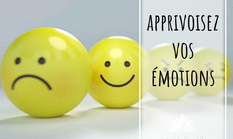 Apprivoisez, gérez vos émotions